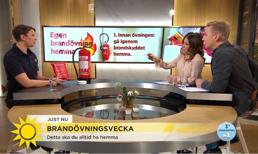 Brandskydd | TV4 visar brandövning i hemmet